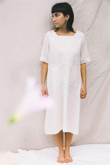 Mimi Holvast Frank Dress - Off White