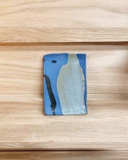 KATE ROSENBERG CERAMICS Plate - Blue