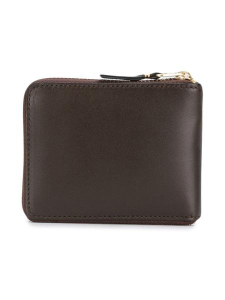 COMME DES GARCONS classic zip-around wallet - Brown