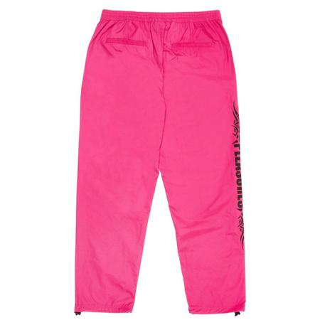 PLEASURES Reservoir Track Pant - Hot Pink