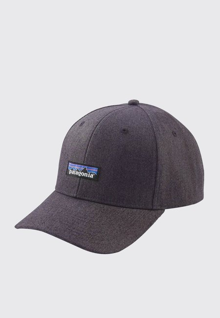 Patagonia Tin Shed P-6 Logo Hat - ink black