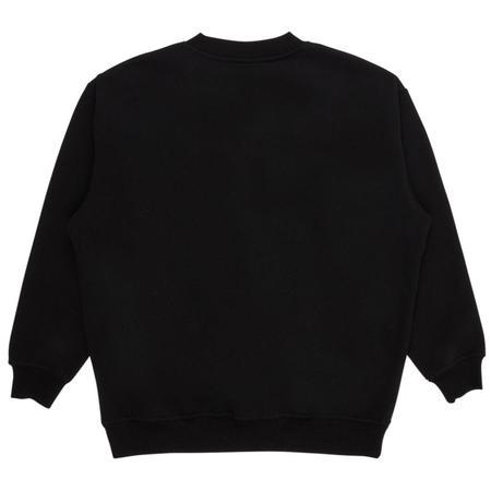 PLEASURES Crush Crewneck Sweatshirt - Black