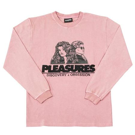 Pleasures Discovery Shirt - Washed Pink