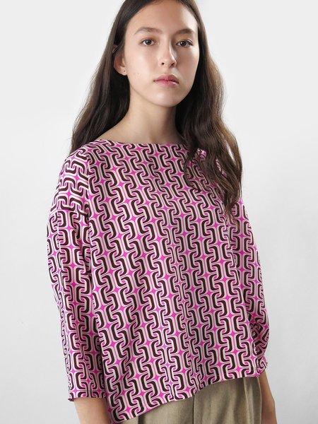 Erica Tanov vida top - hot pink