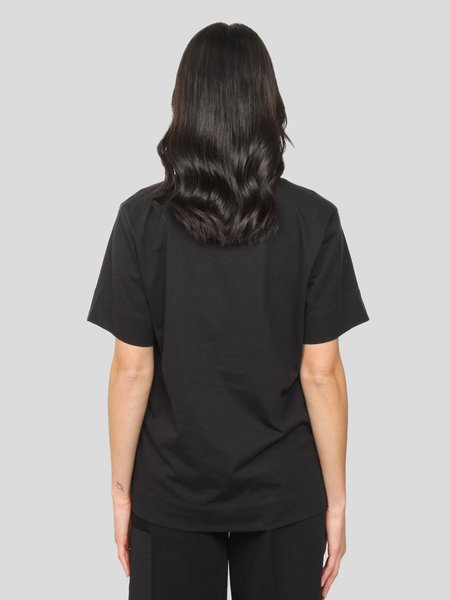 Ganni Thin Software Jersey T-Shirt - Black