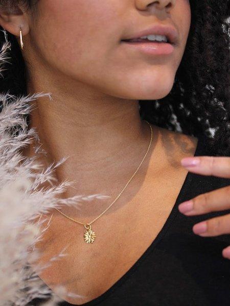 MERAKI BOUTIQUE Little Marguerite Necklace - Gold