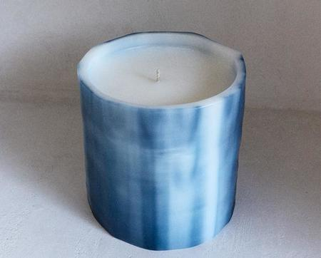 Le Feu De L'eau Candle - Phthalo Bleu