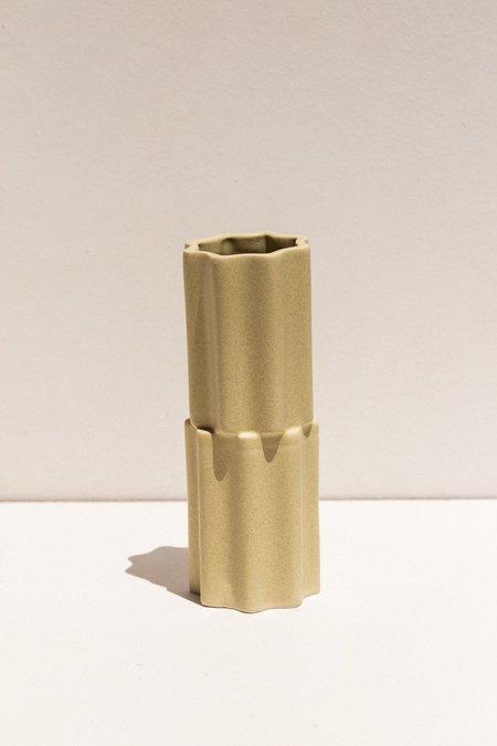 Ella Reweti Tilde Stacked Vase - Wheat