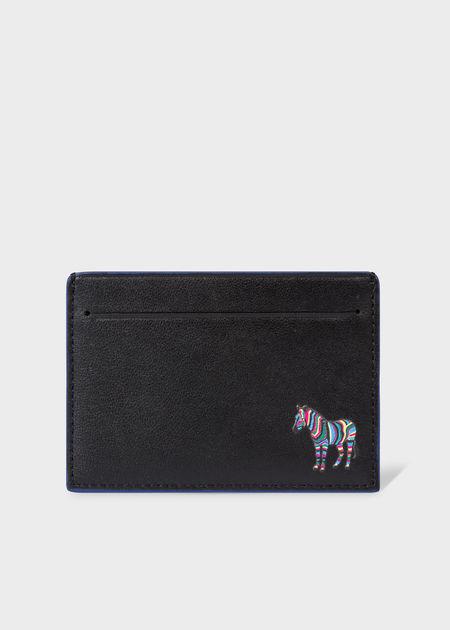 PAUL SMITH CC Zebra Wallet - Black