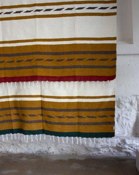 Nipomo + Esby Recycled Blanket - Golden Stripe