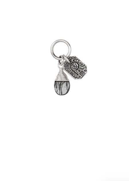 Pyrrha Protection Signature Attraction Charm - Silver