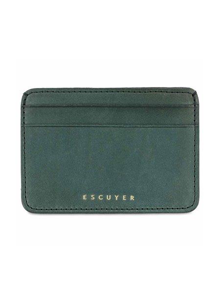 Escuyer Cardholder - Green