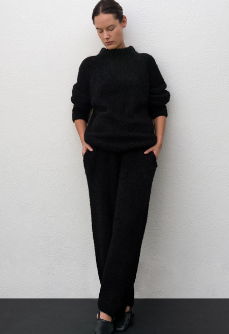 Wol Hide Lounge Pullover - Onyx