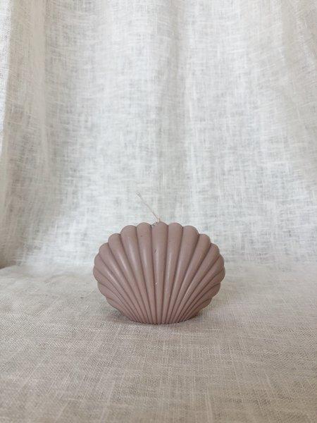 Ri-ri-ku Shell Candle - Taupe