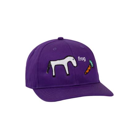 Frog Horse Hat - Purple