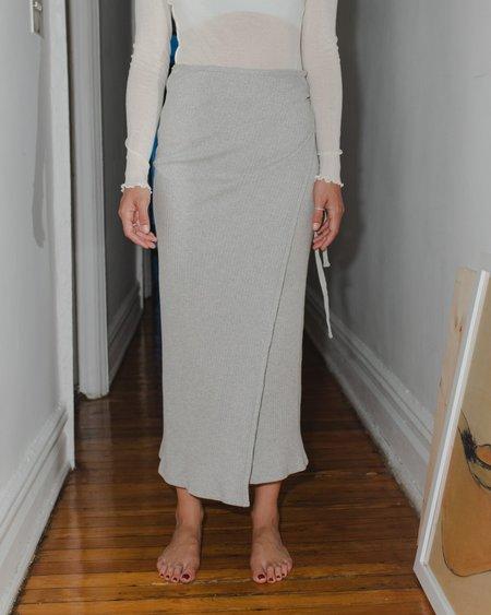 Baserange Brig Skirt - Grey Melange