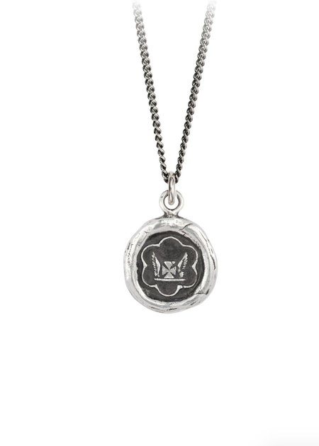 Pyrrha Be True To Yourself Talisman - Sterling Silver