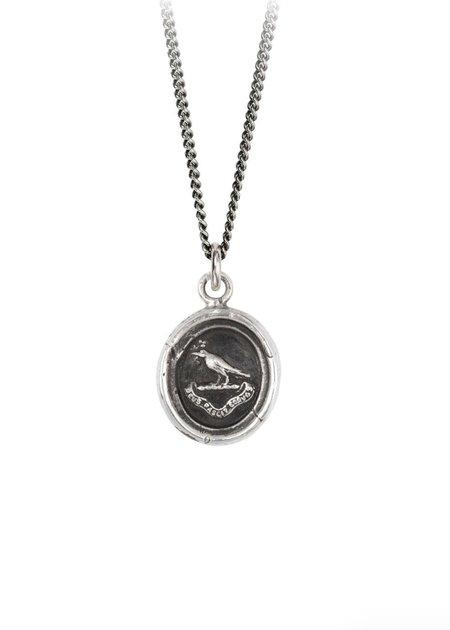 Pyrrha Gratitude Talisman - Sterling Silver