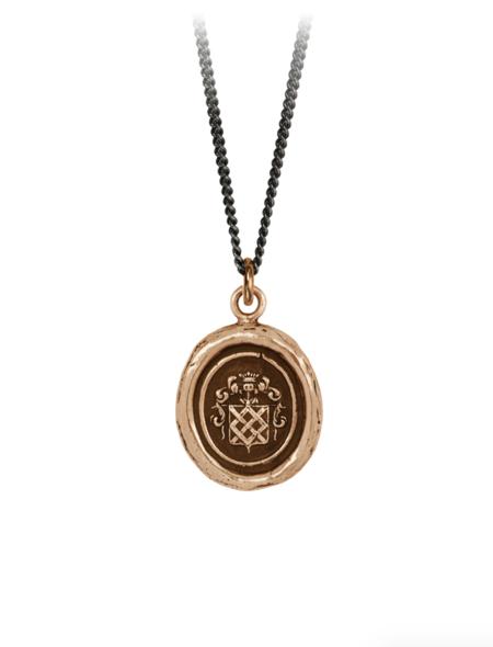Sterling Silver Inseparable Talisman - Bronze
