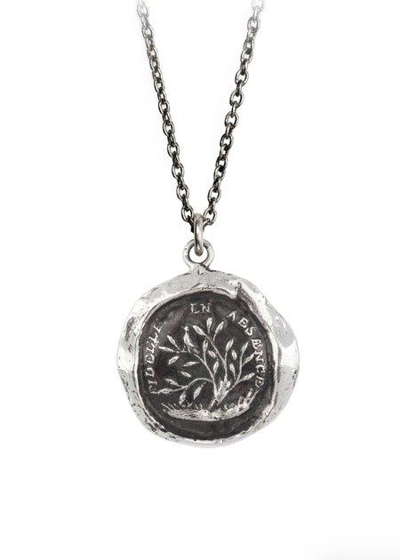 Pyrrha Faithful Talisman Necklace - Silver/Bronze