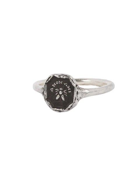 Pyrrha My Friend Mini Talisman Ring - Sterling Silver