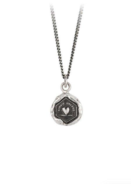 Pyrrha Never Settle Talisman necklace - Sterling Silver