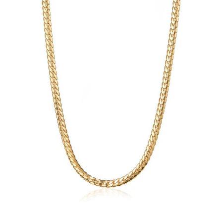 Jenny Bird Biggie Chain Necklace - 14K gold-dipped brass
