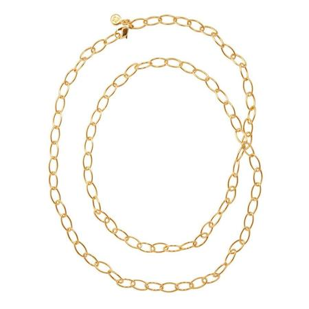 Frey Wille Anchor Oval Chain - Brass/gold plated