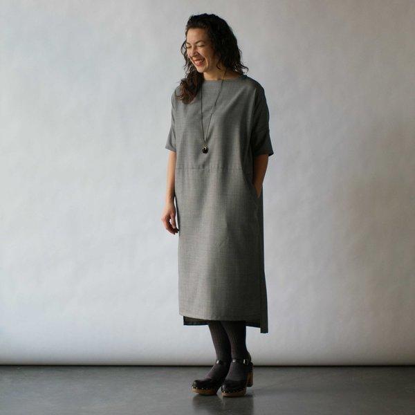 Lu. Revel Dress in Concrete