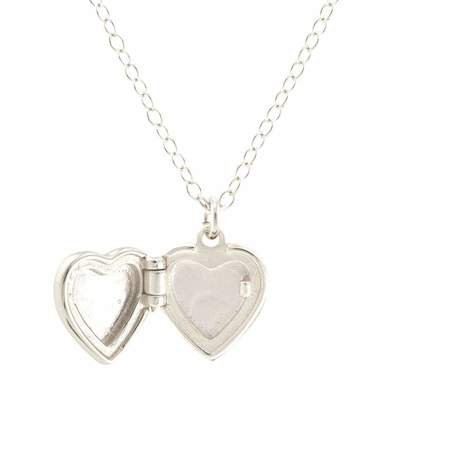 Kris Nations Heart Locket - Silver