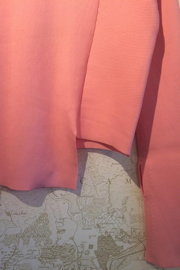Tibi Ribbed Asymmetrical Knit Top