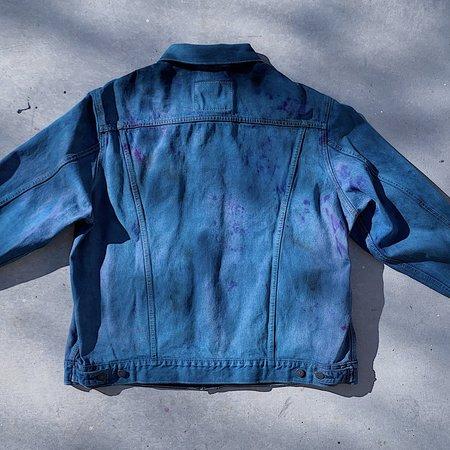 Unisex Phoenix General x DEVI DASI Upcycled Series Levi's Denim Jacket