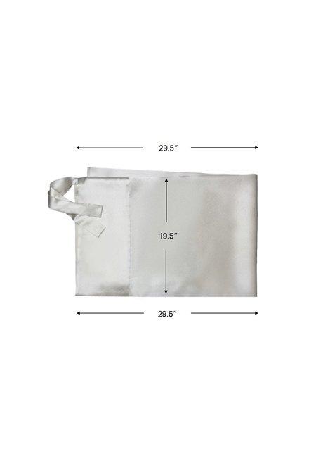 KES Moonlight Set Silk Pillowcase Sleep Mask - Amethyst