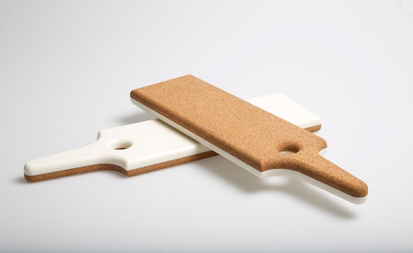 Tinsel & Sawdust Cork/Corian Trivet + Food Board
