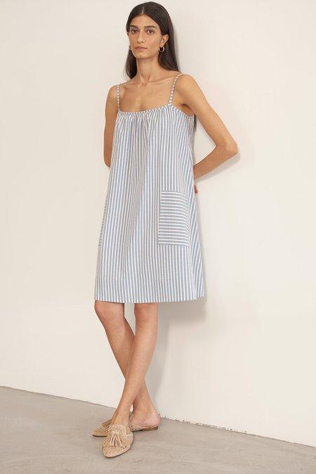 Else Hamptons Slip Dress - Blue