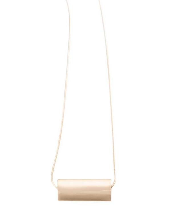 Minoux Jewelry Cylinder Necklace