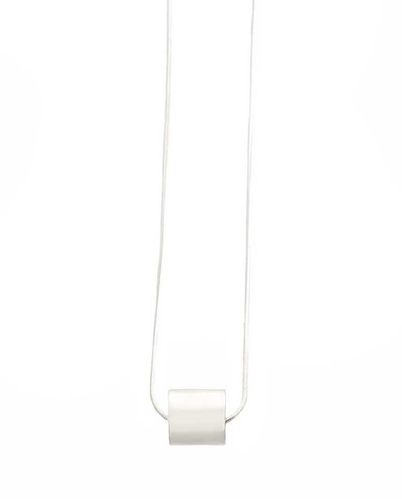 Minoux Jewelry Small Cylinder Necklace