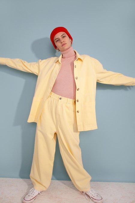 Unisex L.F.Markey Fergus Trousers - Lemon Yellow
