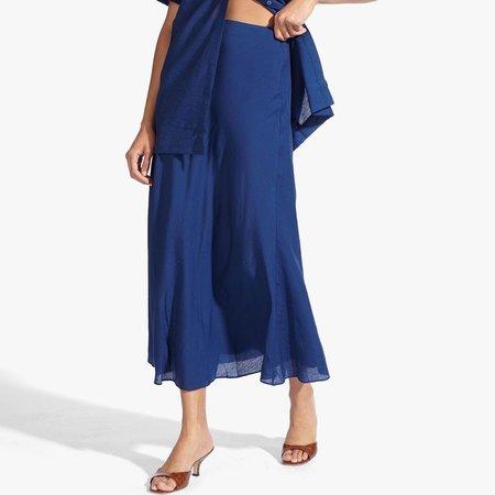 Staud Spire Skirt - Navy
