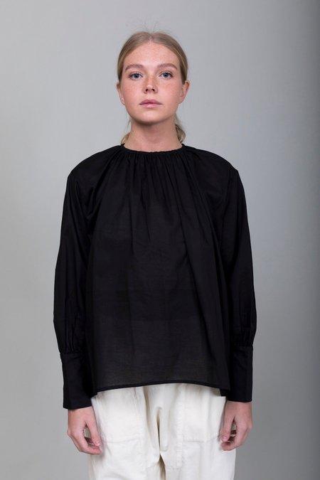 Mizuiro Pullover Shirt - Black