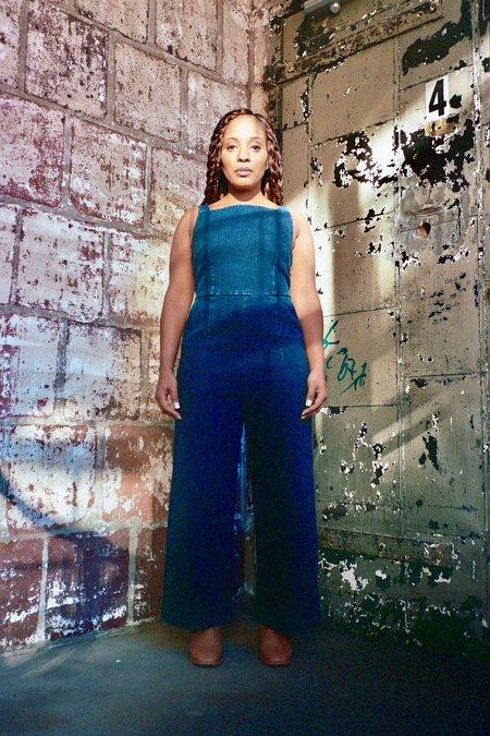Loup Brenda Petite Exclusive Jumpsuit - Dark Indigo