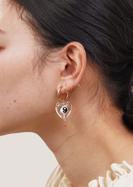 NINFA Balance Heart Earrings
