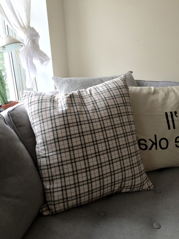 House of 950 Plaid Pillow