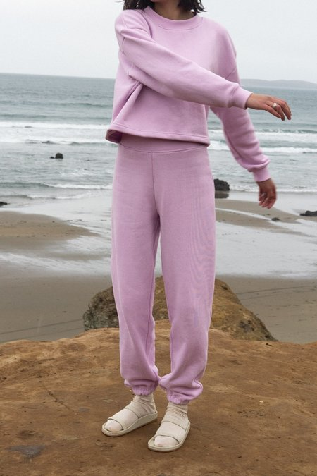 Waltz Easy Sweatpants - Pale Lilac
