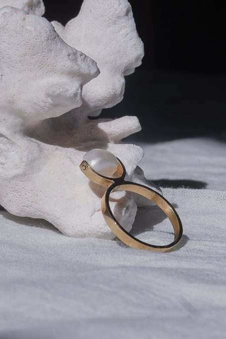 OUND Handcrafted Recycled Gold Ring