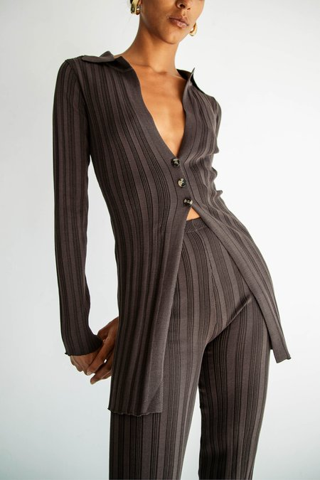 The Line By K NIDIA Ribbed Cardigan