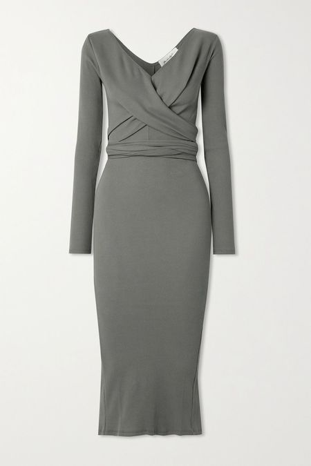 The Line By K Saloma Wrap Dress