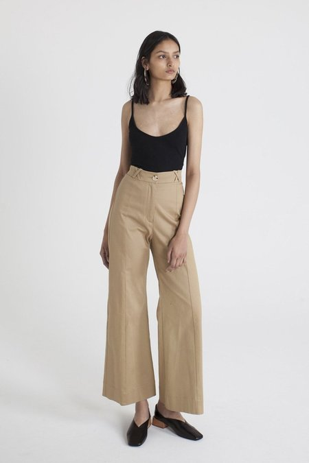 Limb The Label Nara Flare pants - Camel
