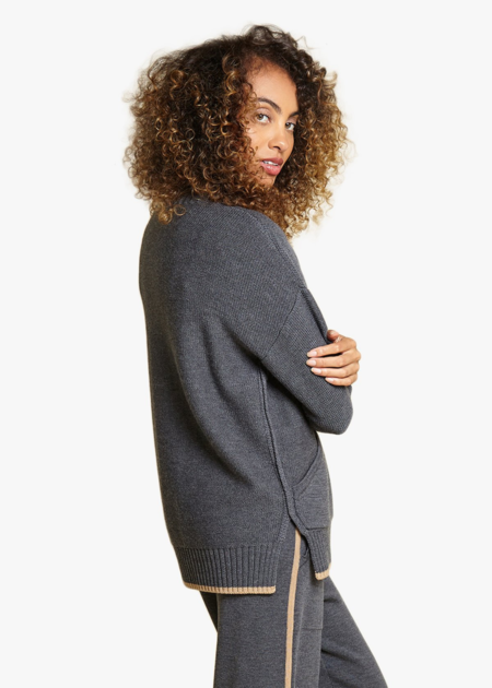 Oyun Tunic sweatshirt - graphite