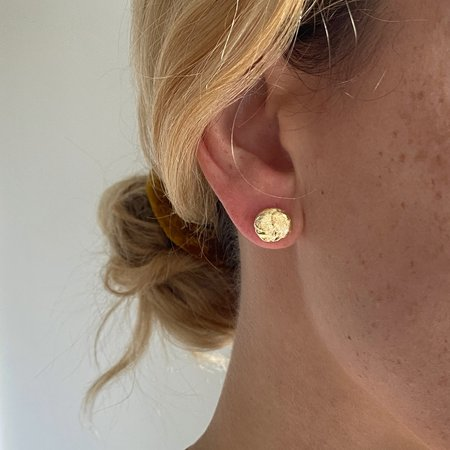 Mercurial NYC Selene Stud - 14k gold plated